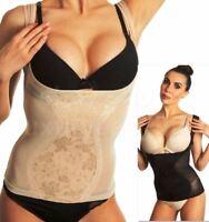 Underbust Full Body Shaper Vest Top Slip Bum Lift Slimming Waist Cincher Control