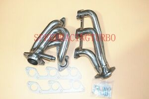 """EXHAUST HEADERS FOR 05-10 FORD MUSTANG 4.0L V6 1-5/8"""" SHORTY TUNED ONE PAIR"""