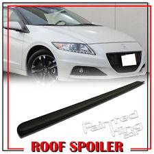 10-15  Unpainted FOR Honda CRZ CR-Z ZF1 Rear Roof Lip Spoiler Wing Window Visor