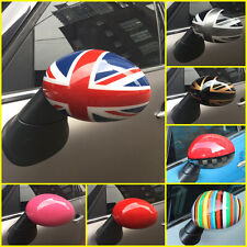 2X WING DOOR MIRROR COVERS FOR BMW MINI COOPER R55 R56 R60 PAIR LEFT RIGHT