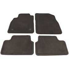 2012-15 Chevy Cruze Floor Mat Front & Rear Cocoa Brown Carpet New GM 23479293