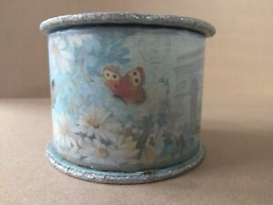 Rare punch studio luxury lavender soap in collectible butterfly box.