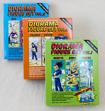 Dragon Ball Z Diorama Figure Set Vol.1+2+3 Trunks Vegeta Gohan JAPAN ANIME