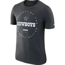 Dallas Cowboys Nike Sideline Property Of Performance Gray Tee Adult XL