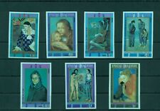 Pablo Picasso Paintings Cubism Art Guinea Equatorial MNH stamp set