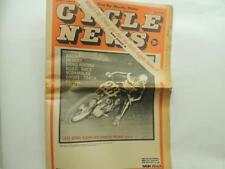 Aug 1967 Cycle News Newspaper Ascot Road Drag Race Trials Bonneville L11800