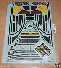 Tamiya 58542 Mitsubishi Lancer Evo VII/TT01, 9495749/19495749 Decals/Stickers