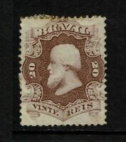Brazil SC# 54, Mint Hinged, large Hinge/Page Remnants, some toning - S8446