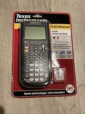 TEXAS INSTRUMENTS TI-82 ADVANCED Mode Examen Intégré - Calculatrice neuve