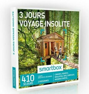 NEW & Sealed Voyage Insolite 3 Jours Smartbox