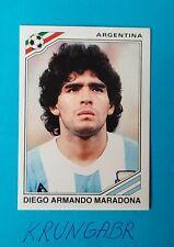 DIEGO MARADONA MEXICO 1986 STICKER WORLD CUP STORY  #171 ARGENTINA INVEST