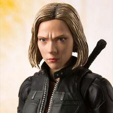 Anime S.H. Figuarts SHF Infinity War Black Widow Scarlett Johansson Figure Toy