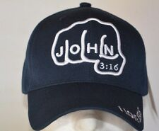 FIST JOHN 3:16 WOODLAND CAP NEW NAVY BASEBALL CAP