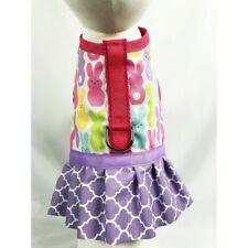 Peeps Easter Bunny Dog Harness Vest Dress With Ruffle Skirt