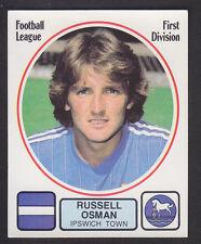 Panini - Football 82 - # 98 Russell Osman - Ipswich
