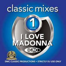 DMC Madonna Megamixes & 2 Trackers Mixes Remixes Ft Pink & Black Legend DJ CD
