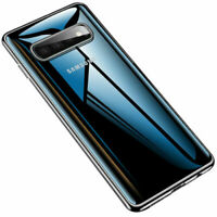 Samsung Galaxy S10 / S10 Plus Transparent Case Shock Absorption TPU Soft Cover