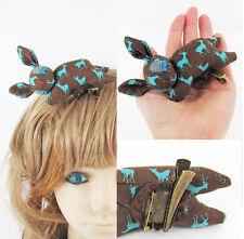 ❤️ Handmade ❤️ Sleeping Bambi Corsage/Fascinator-Brown Deer, *Quirky Lolita*