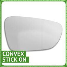 Pour Audi A6 08-11 Droit Côté Conducteur Plat Aile Porte Miroir en verre avec plaque