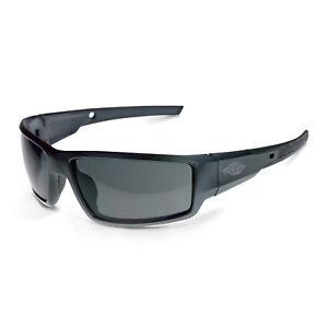 CROSSFIRE Cumulus Premium Safety Glasses Gray Frames Smoke Lens 41291