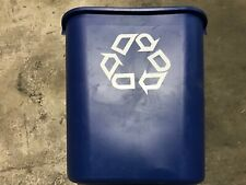 Convenient Compact Size Eco Friendly Deskside Recycling Trash Container 7 Gal.