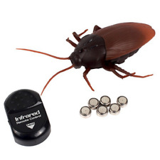 Remote Control Mock Fake Cockroach RC Toy Prank Insects Joke Scary Trick Bugs