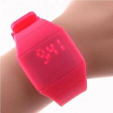 Waterproof Children's Touch Sports Silicone Bracelet Digital LED Wrist Watch