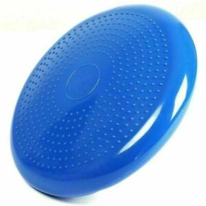 Durable Inflatable Balance Pad Yoga Wobble Stability Disc Massage Cushion Mat