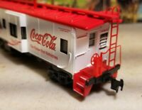 HO Athearn coca-cola caboose for train set RTR , coke cccx 1887 nos