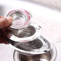 Stainless Steel Kitchen Sink Strainer Plug Drain Stopper Filter Basket