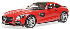 Brabus 600 Coupé 2015 de base Mercedes AMG GT S rouge rouge 1:18 Minichamps