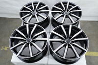 "18"" Wheels Fit Maxima Altima Juke Sentra Camry Corolla Accord Civic Black Rims"