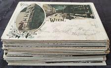 Konvolut Ansichtskarten Wien - 80 Stück vor 1945, alle II. Wahl, beschädigt !!