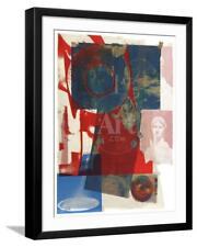 ROBERT RAUSCHENBERG Vintage ORIGINAL 1968 Mid-Century Art CLASSIC POP LITHOGRAPH