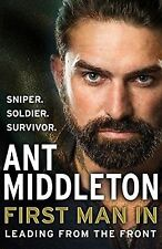 Ant Middleton-First Man in: Leading from The Front (Hardback 2018) NEW