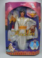 NRFB Mattel Disney Classics 1992 Aladdin Doll Figure #2548 Lamp Monkey