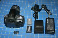 Sony Alpha DSLR-A330 10.2MP Digital SLR Camera w/ kit DT SAM 18-55mm lens