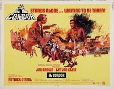 EL CONDOR half sheet movie poster 22x28 LEE VAN CLEEF JIM BROWN WESTERN