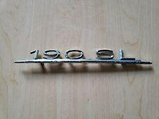 Mercedes Benz 190SL W121 Trunk Badge Emblem ORIGINAL OEM 1218170215