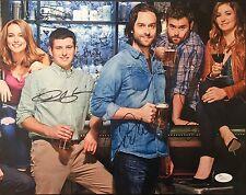 Autographed Undateable cast signed 11x14 w/JSA Bianca Kajlich Bridgit Mendler