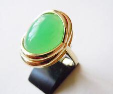 Chrysopras - Ring 585  Gold    Nr. 6121