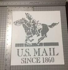 US Mail Streetart Stencil Large