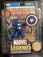 marvel legends Captain America Steve Roger figure series 1 I toybiz Avengers