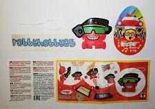 EN602 Emoji Mit Hut Und Sonnenbrille + Bpz Emojoy Music Rote Serie Kinder Joy