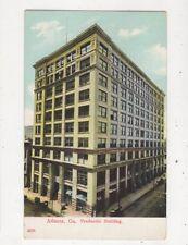Atlanta Ga Prudential Building USA 1908 Postcard 934a