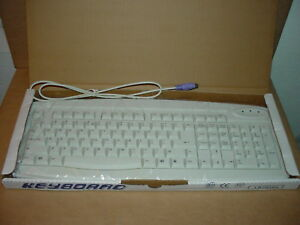 Vintage PS-2 KEYBOARD WHITE NEW IN BOX