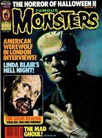 FAMOUS MONSTERS #180 WARREN January 1982 Horror Magazine VF-NM