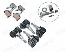 4x PEUGEOT 407 207 307 607 508 807 Sensore di pressione pneumatici TPMS 433mhz/9681102280