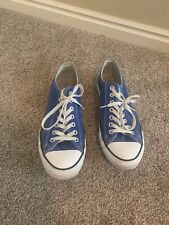 CONVERSE All Star shoes blue Men's 9 Women's 11 EU
