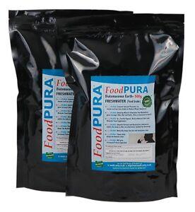 Food PURA® 1KG Codex FOOD Grade Diatomaceous Earth DE Human Fresh Water Sourced